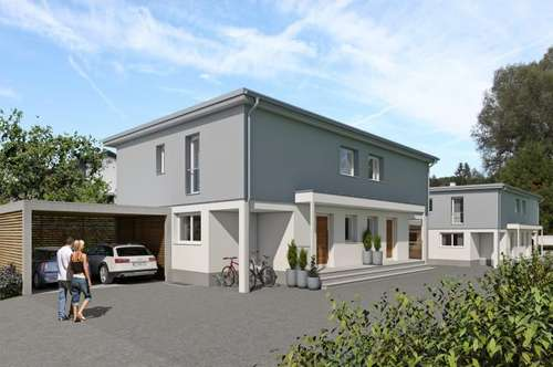 Neubau Doppelhaushälfte in Salzburg-Sam