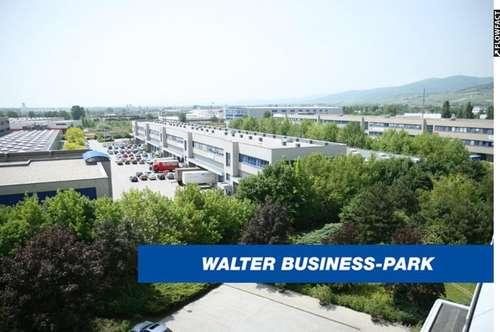 678 m² Büro & 1.308 m² Lager, niedrige BK und provisionsfrei - WALTER BUSINESS-PARK