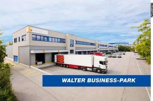 Perfekt ausgestattetes Büro (678 m²) & Lager (1.308 m²) im Süden Wiens, provisionsfrei - WALTER BUSINESS-PARK