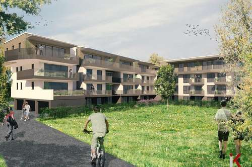 Herrliche Dreizimmerwohnung nahe Therme - Fertigstellung 2020