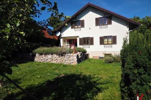 Sonniges, naturnahes Einfamilienhaus am Gießhübl!