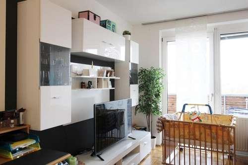 Geförderte, moderne 2-Zimmer-Wohnung in traumhafter Aussichtslage mit 16,26 m² Westloggia
