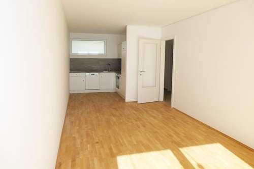 Schöne,helle Erstbezugswohnung mit 2 Zimmern inkl. Balkon u. Küche | ab sofort zu vermieten!