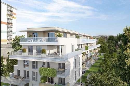 Urbaner Terrassentraum | 76m² Wohnfläche mit 66m² Terrasse | keine Provision