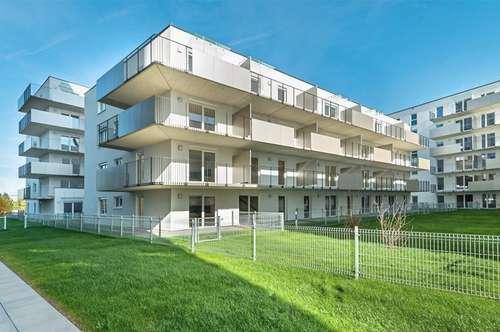 Hübsche 55m² Erstbezugswohnung mit Balkon,Küche und Tiefgaragenplatz   ab sofort zu vermieten!