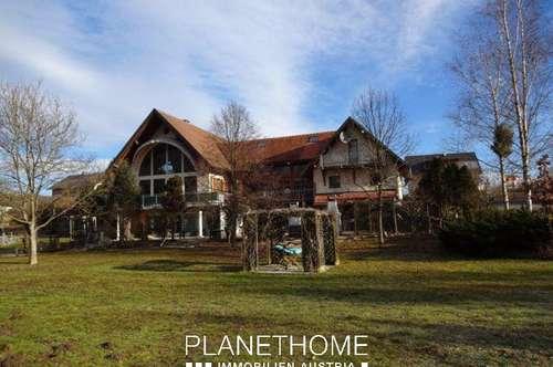 Moderne Architektur in ländlicher Umgebung