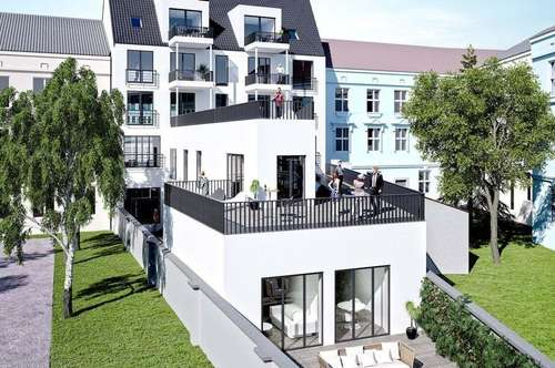 Penthouse 98,8 m² – eigene Jacuzzi Ebene – provisionsfrei für Käufer – Top 21