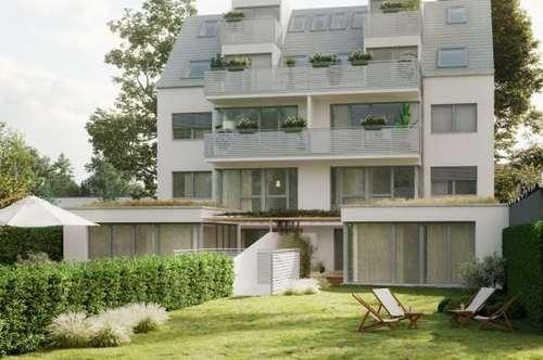 Erstbezug, moderne 4-5-Zimmer Gartenmaisonette mit Südwest-Ausrichtung