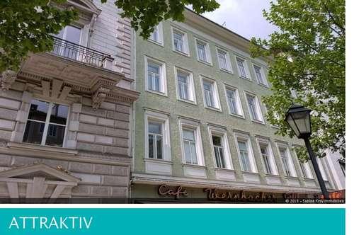 Charmante 3 Zimmer-Altbauwohnung mit Balkon - Andräviertel