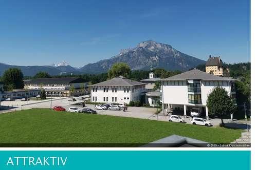Exklusive 3,5 Zimmer Dachterrassenwohnung - traumhafter Panoramablick- Nähe Red Bull!
