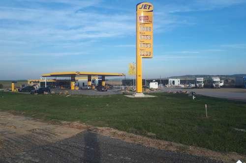 Renditeobjekt - Grundstück mit Bestandsvertrag (JET-Tankstelle)