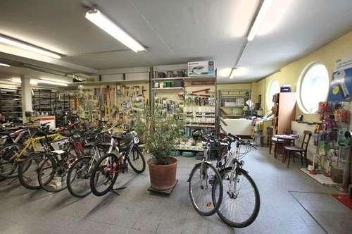 Klosterneuburg- Weidlinger Bahnhofsnähe : 241m² großes Geschäftslokal / Lager / Werkstatt