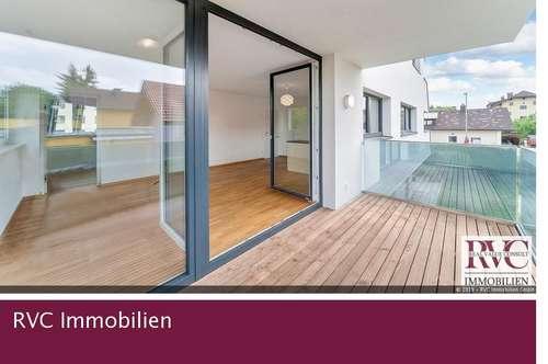 Edle Balkonwohnung in modernem Architektenhaus