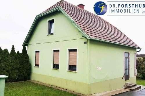Grundstück mit renovierungsbedürftigen Haus oder Abbruch und Neubau