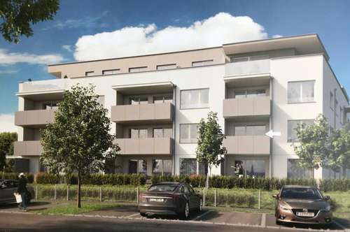 Neubau Mietwohnung 3 Zi ,sonniger Balkon, TG Platz in 4030 Linz