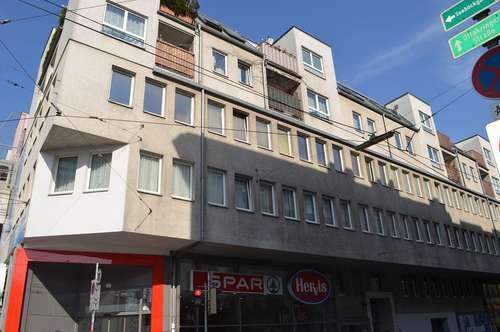 PALTAUFGASSE! U3-Nähe, sonniges 85 m2 Neubaubüro, 3 Zimmer, weiter teilbar, Teeküche, Sanierung nach Mieterwunsch