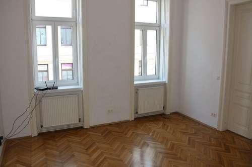 JOSEFSTÄDTER STRASSE! U6-Nähe, unbefristete 65 m2 Altbau, 3 Zimmer, 2er-WG-geeignet, Extraküche, Wannenbad, Parketten,