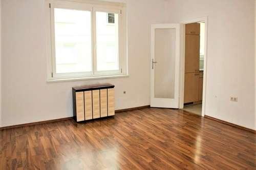 SINGLEHIT! Steinergasse – Geblergasse; sonnige 35 m2 Garconniere, Einzelwohnraum, Extraküche, Wannenbad, Parketten