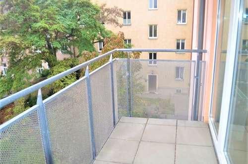 LÖWENTHALGASSE! TOPGEPFLEGTE 70 m2 NEUBAUWOHNUNG MIT 6 m2 BALKON, 3 Zimmer, Komplettküche, Wannenbad, Parketten,