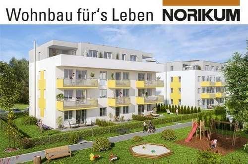 Lambach, Wohnpark Lenaustraße - Familienwohnung mit Balkon - B2/6/1.OG