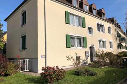 Eisenwerkstraße, sonnige, sehr ruhig gelegene 69 m² WNFL, 3 Zimmer, Küche möbliert, 2. Stock ohne Lift!