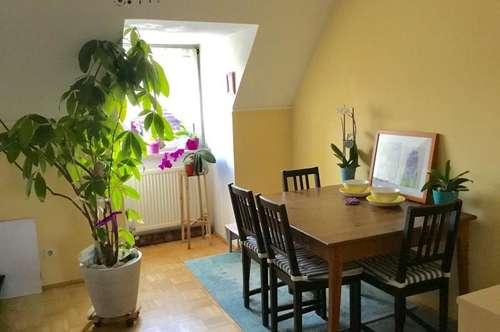 Sonnige, sehr ruhig gelegene 69 m² WNFL, 3 Zimmer, Küche möbliert, 2. Stock ohne Lift!