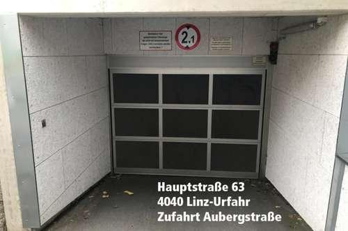 Extra breiter Tiefgaragenplatz (Behindertenparkplatz) im Zentrum von Urfahr, Hauptstraße 63