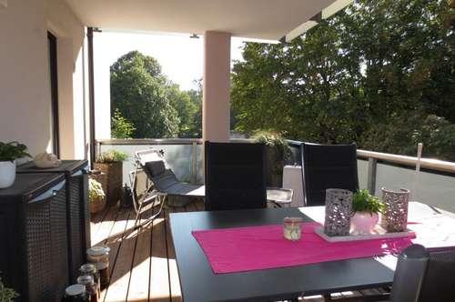 Froschberg! Sehr schöne 85 m² Wohnung mit großem Balkon, 3 Zimmer, 2 Tiefgaragenplätze optional! Barrierefrei!