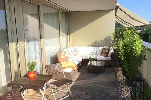 Bezaubernde Penthouse Wohnung mit großer sonniger Loggia in sehr schöner Lage