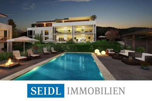CALLISTA: Neubau-Gartenwohnung mit Bademöglichkeit