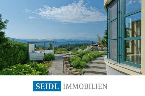 Seeblick-Architektenvilla in Naturlage
