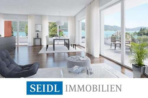 CALLISTA Velden: Neubauprojekt mit Bademöglichkeit und Seeblick