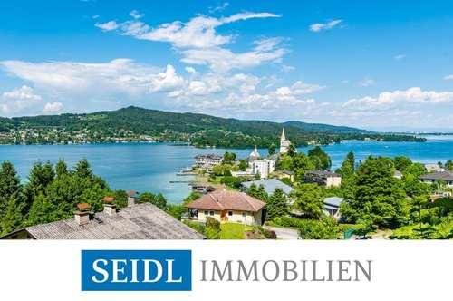 Seeblick-Grundstück mit höchster Privatsphäre