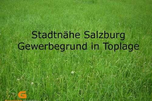 Thalgau - Gewerbegrundstück in Top Frequenzlage Nähe A1 zu verkaufen