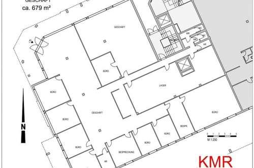 Barrierefrei Exklusive Geschäftsfläche oder Büro zu vermieten, € 8/m²