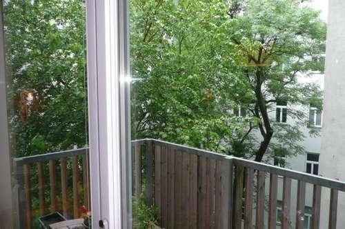 Freundliche 3-Zimmer-Wohnung mit Balkon ! Nähe Lycée Francais und Palais Liechtenstein