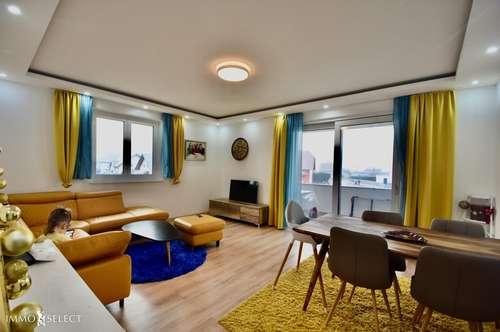 neugeschaffene, hochwertige, moderne und große Mietwohnung am St. Pöltner Stadtrand