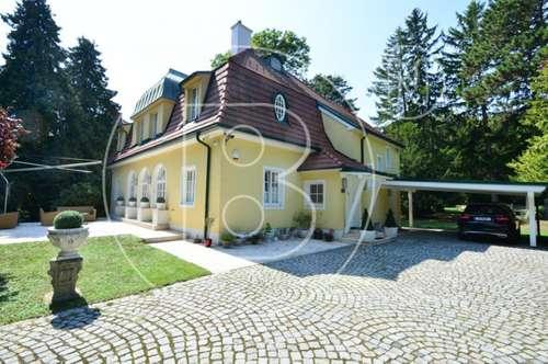 Bezaubernde Jahrhundertwendevilla mit grandiosem Privatpark!