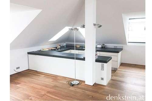 traumhaftes 3 Zimmer Loft in einem Dachgeschoß mit Terrasse im Andrä Viertel Salzburg Stadt