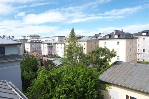 traumhaftes Wohnen über den Dächern von Salzburg! 3 Zimmer Loft mit Terrasse im Andrä Viertel