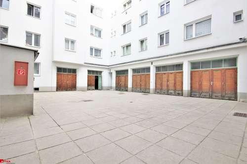 8 getrennte Garagen/Lager im Innenhof bei Simmeringer Haupstraße