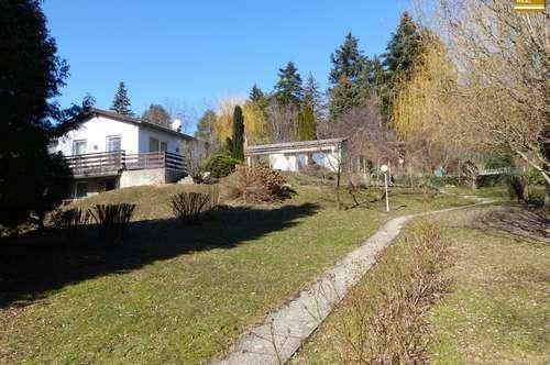 Familienhaus mit großem Garten in Eichgraben