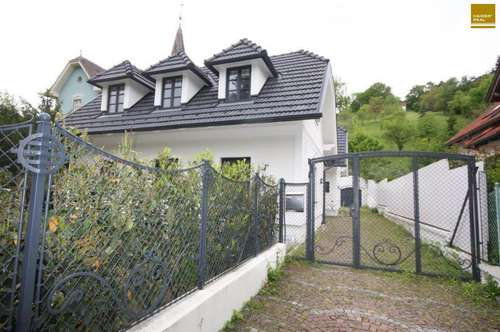 Charmantes Einfamilienhaus in Weidling
