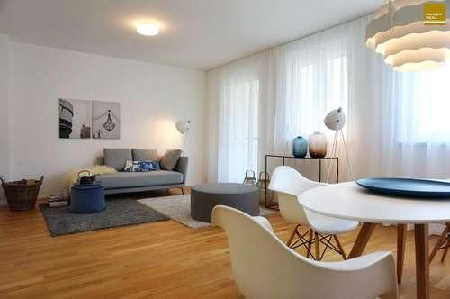 Hochwertige 3 Zimmer-Balkonwohnung mit PKW-Stellplatz