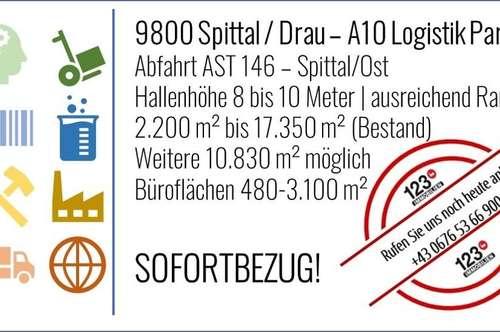 A10 Logistik Center ||| 9800 Spittal / Drau