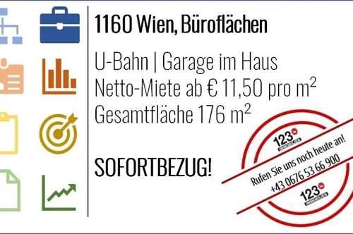 1160 Wien | Büroflächen - Sofortbezug |