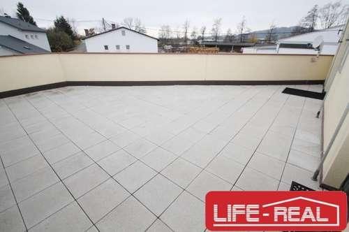 sonnige, freundliche 3-Zimmerwohnung mit großer Terrasse