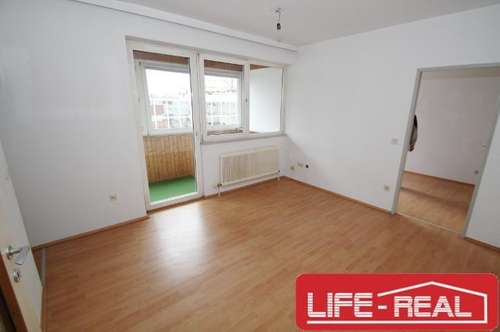 zwei Zimmer Wohnung mit großer Loggia in Urfahr