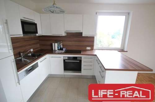 WG geeignete Wohnung mit neuer Küche und Loggia in Urfahr, Jetzt mit VIDEOBESICHTIGUNG auf www.LIFE-REAL.at
