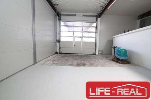 gepflegte Lagerhalle mit Einzelgarage in Pasching